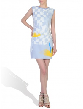 Digitally Printed Mini Dress