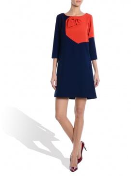Blue Orange Dress