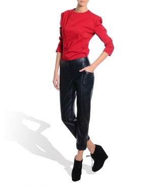 Long Eco Leather Pants