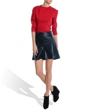 Eco Leather Shorts