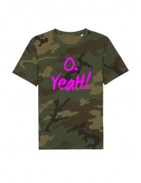 O. Yeah! Camouflage T-shirt