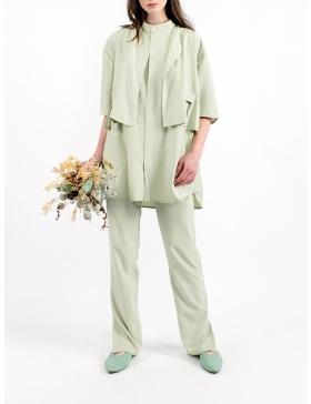 Pastel green shirt