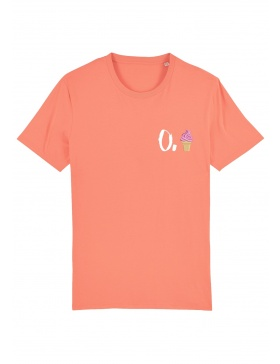 O. ice cream T-shirt - white writing