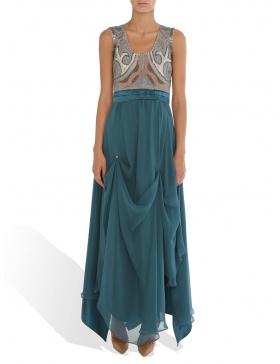 Veil cocktail dress