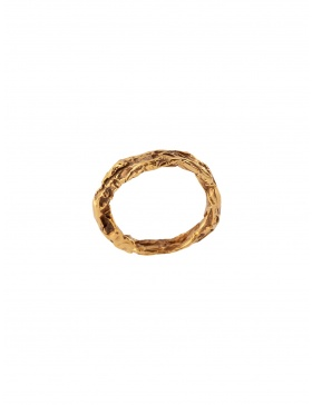 Karma Gold/Silver Ring