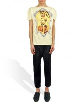 Princely T-Shirt Le Roi Rasta in Vanilla