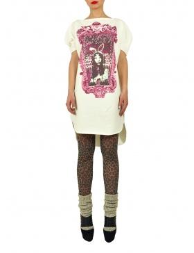 Long Princely T-Shirt Princess Alice in Milk