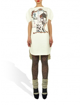 Long Princely T-Shirt The Little Prince in Milk