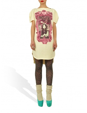 Long Princely T-Shirt Princess Alice in Vanilla
