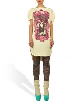 Long Princely T-Shirt Princess Alice in Vanilla