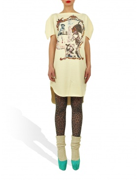 Long Princely T-Shirt The Little Prince in Vanilla