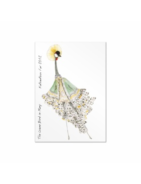 Fashion Birds postcards set #3