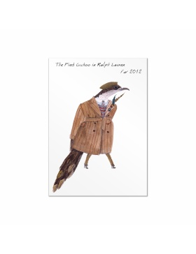 Fashion Birds postcards set #4
