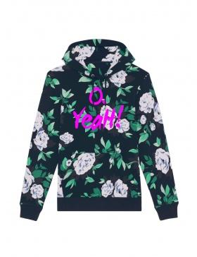 O. Yeah! Floral Hoodie