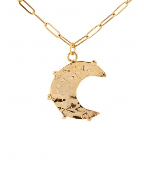 The Moon Gold/Silver Pendant