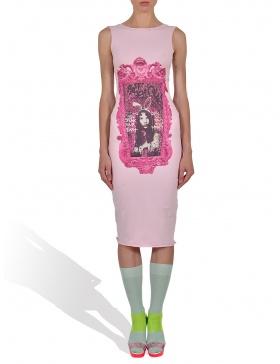 Princess Alice in Rasberry Pink Tank Dress