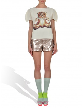 Princely Teddy GaGa T-shirt in Whip Cream