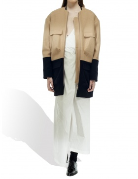 Bicolored Coat
