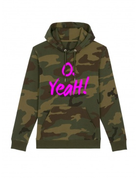 O. Yeah! Camouflage Hoodie