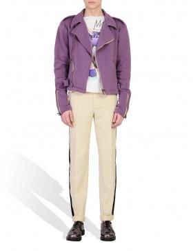 Rebel Motor Jacket in Purple
