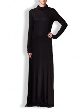 Long turtleneck dress