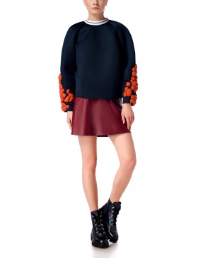 ORANGE ATOMS Sweater