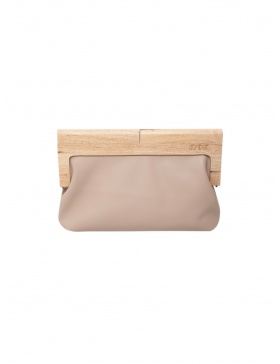 The all beige clutch