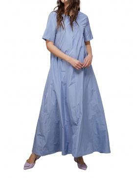 Blue Screen Taffeta Dress