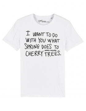 CHERRY TREES on SS Tee | Skin Deep