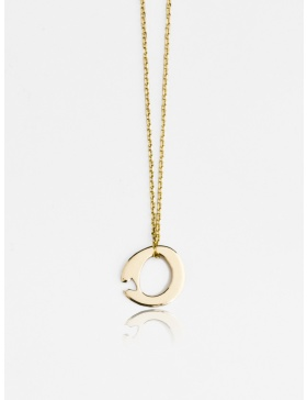 Circle Gold Necklace by Skindeep x Moogu