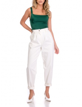 CONICAL TAFETTA PANTS | Cloche
