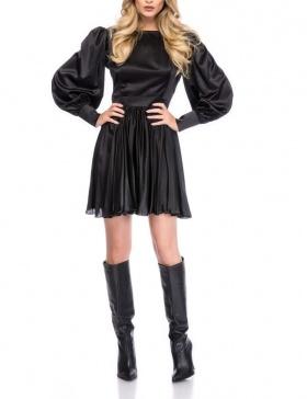 BLACK MINI DRESS | Cloche