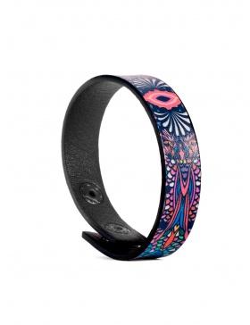 Leather bracelet Hora