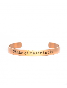 Tanar si nelinistit Rose Gold Bracelet