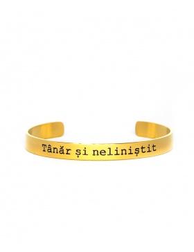 Tanar si nelinistit Gold Bracelet
