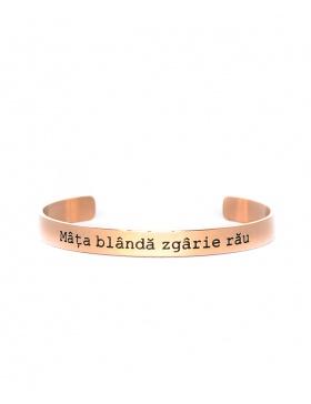 Mata blanda zagrie rau Rose Gold Bracelet