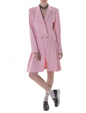 Blazer dress in pink