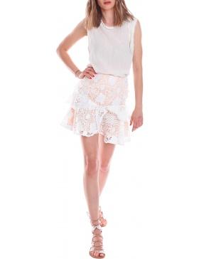 Serene Lace Skirt  | CORINA VLADESCU