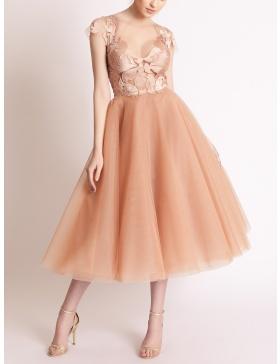 Dune Cappuccino Dress