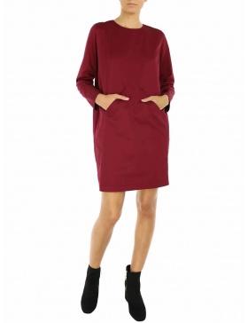 Evelin Dress | Framboise | Molecule F