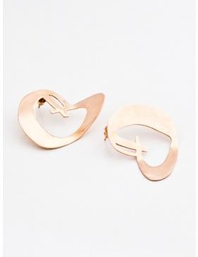 Heart Earrings by Skindeep x Moogu