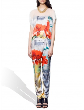Sensation Poppies blouse