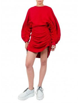 Subs Red Dress
