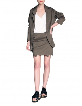 Oversized jacket | Silvia Serban