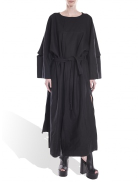 Robe-type coat