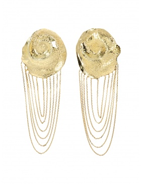Goldshell Earrings