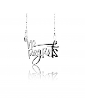 NO REGRETS Necklace