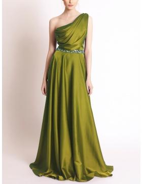Onda Olive Dress