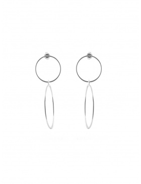 Empty Circles Earrings