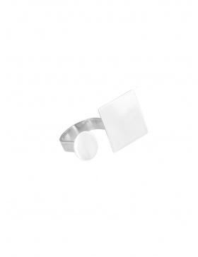 Double PLATTITUDE ring